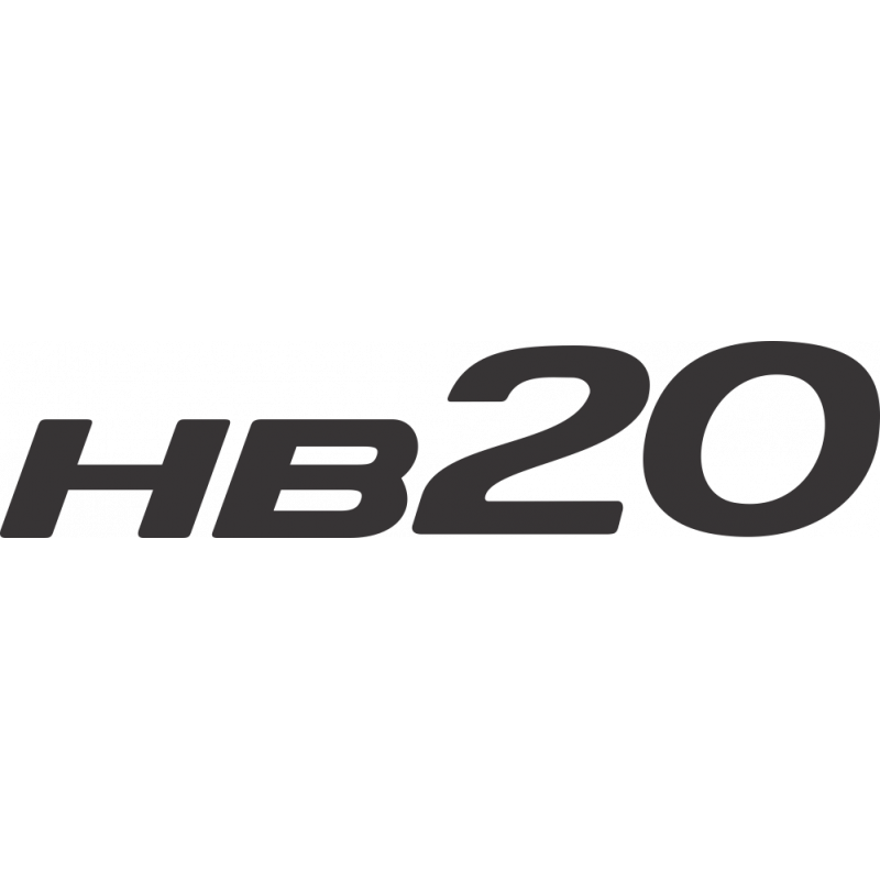 Sticker Hyundai Hb20