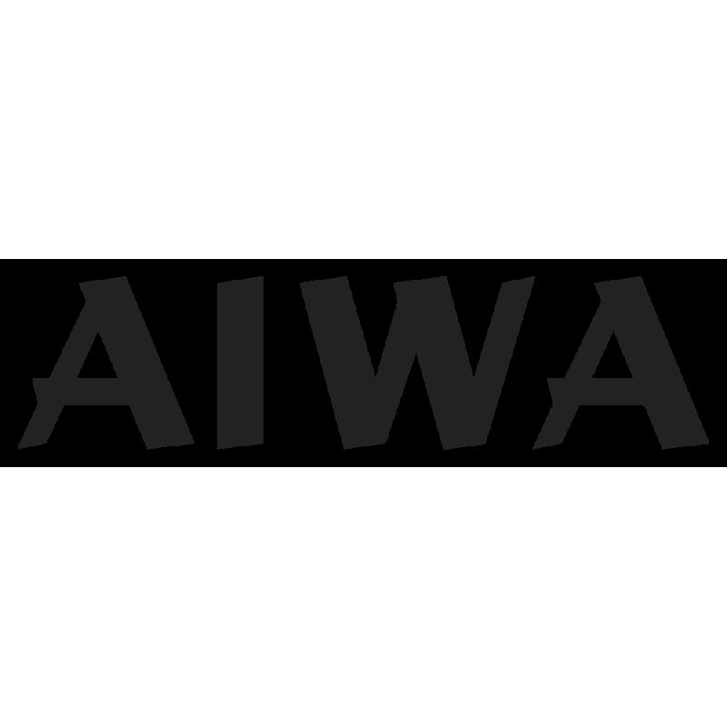 Sticker Aiwa