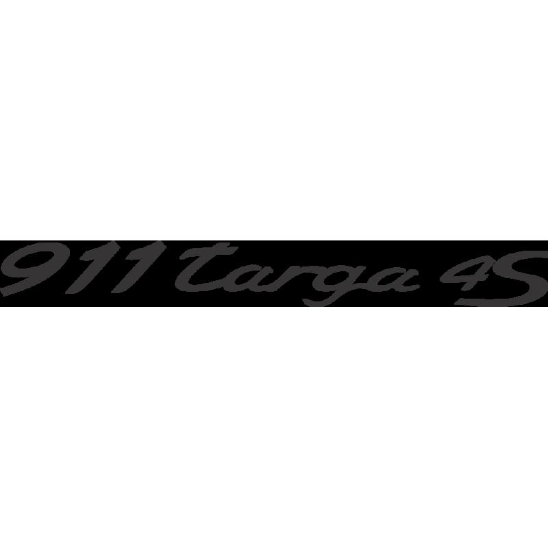 Sticker Porsche 911 Targa