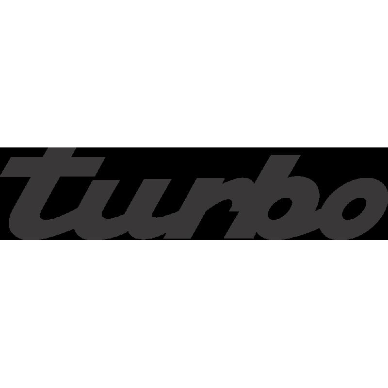 Sticker Porsche Turbo