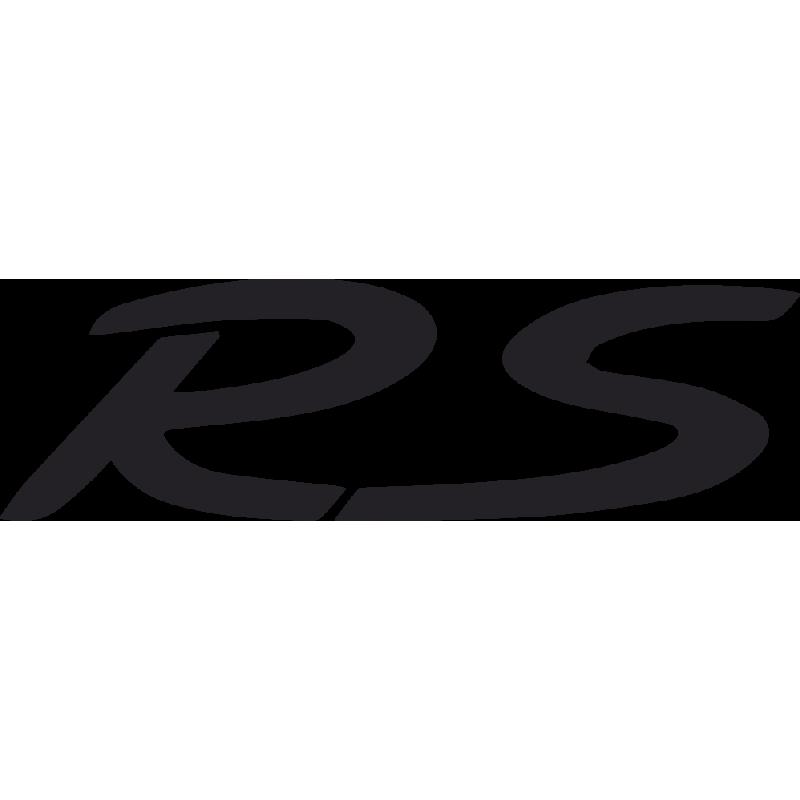 Sticker Porsche Rs