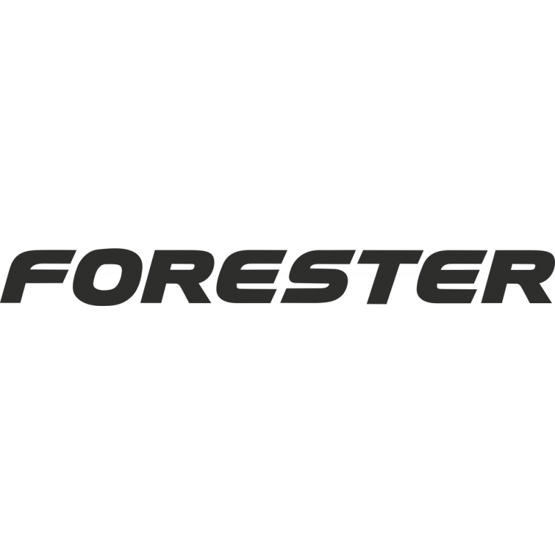 Sticker Subaru Forester