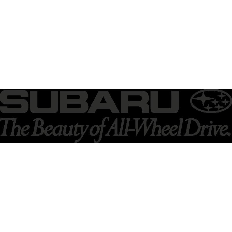 Sticker Subaru Beauty Awd