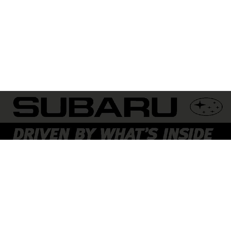 Sticker Subaru Driven