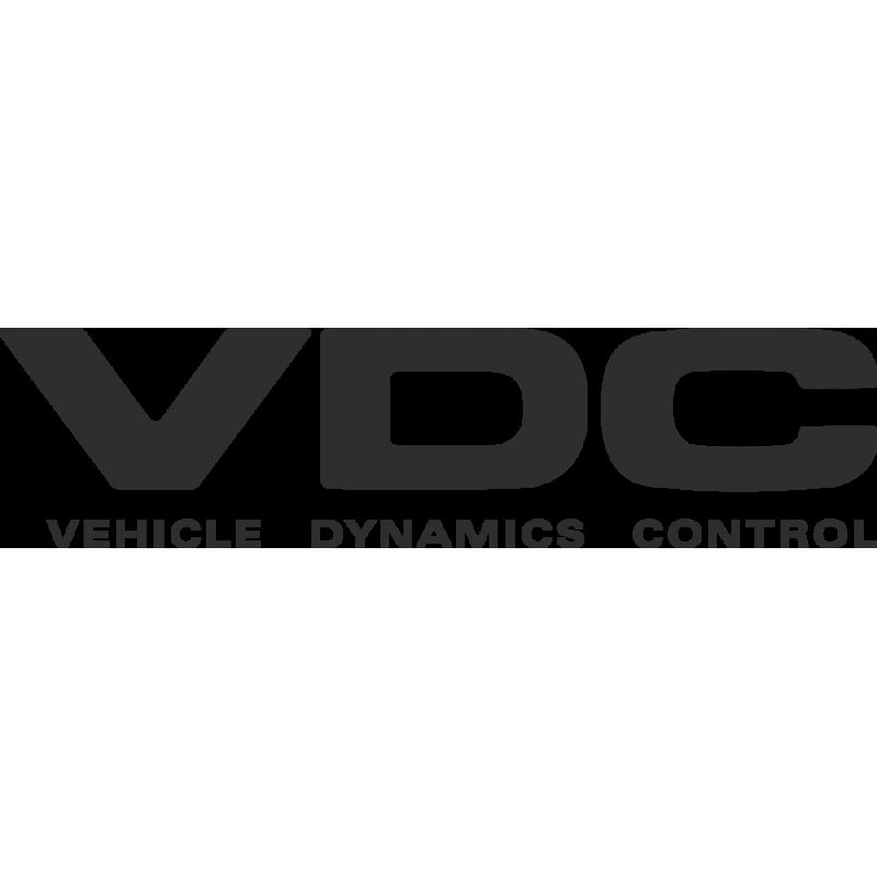 Sticker Subaru Vehicle Dynamics Control