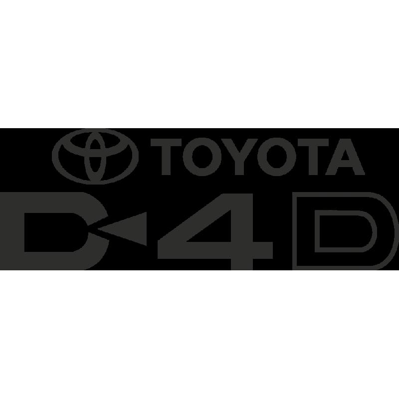 Sticker Toyota D4d
