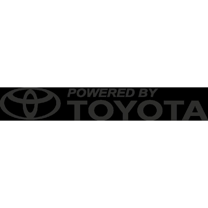 Sticker Toyota Powered