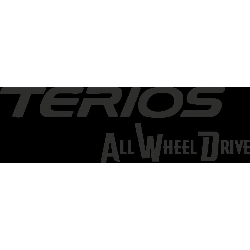 Sticker Toyota Terios