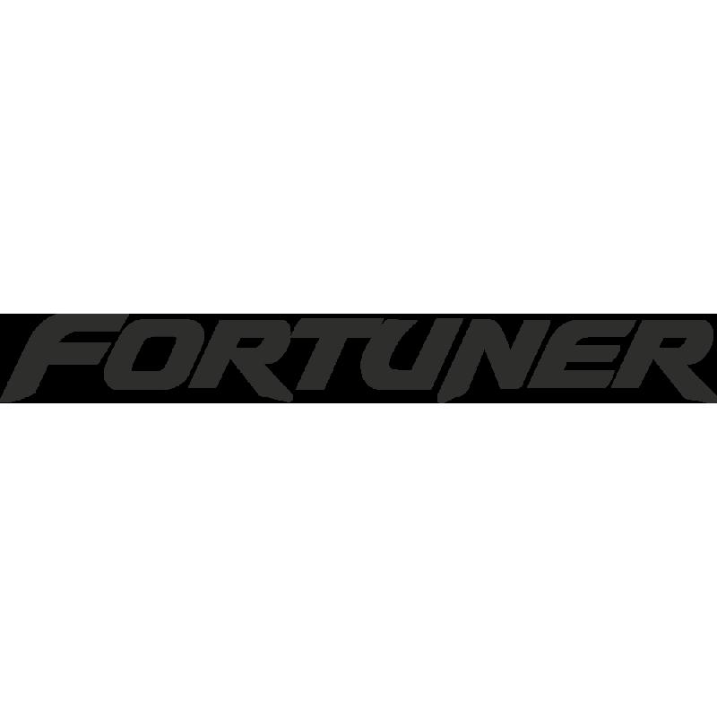 Sticker Toyota Fortuner