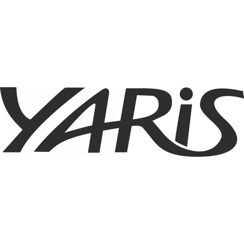 Sticker Toyota Yaris