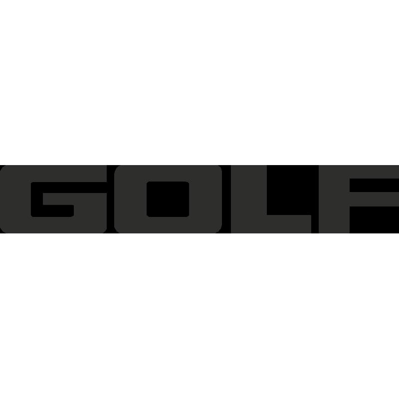 Sticker Volkswagen Golf