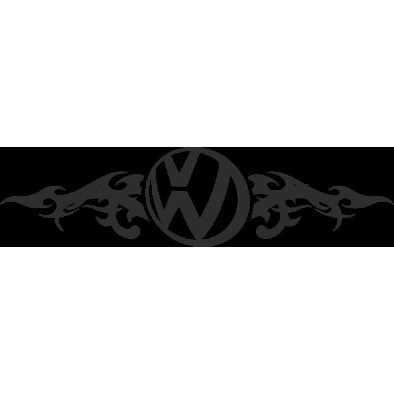 Sticker Volkswagen Flammes