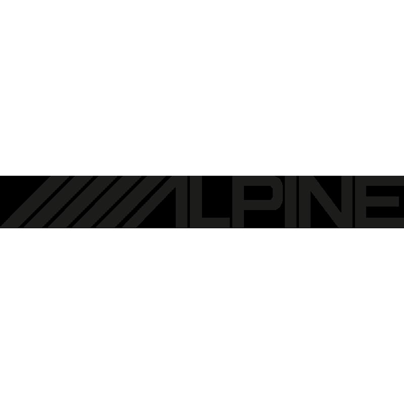 Sticker Alpine