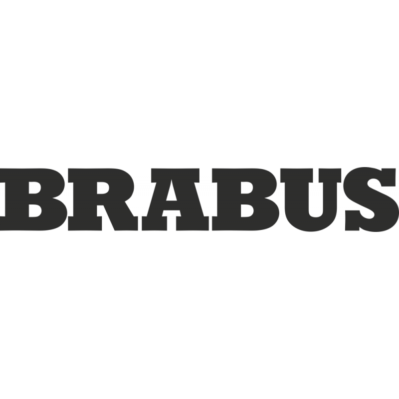Sticker Brabus Logo