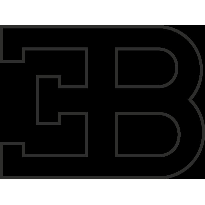 Sticker Bugatti Logo