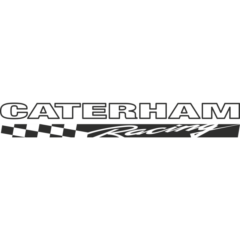 Sticker Catterham Racing