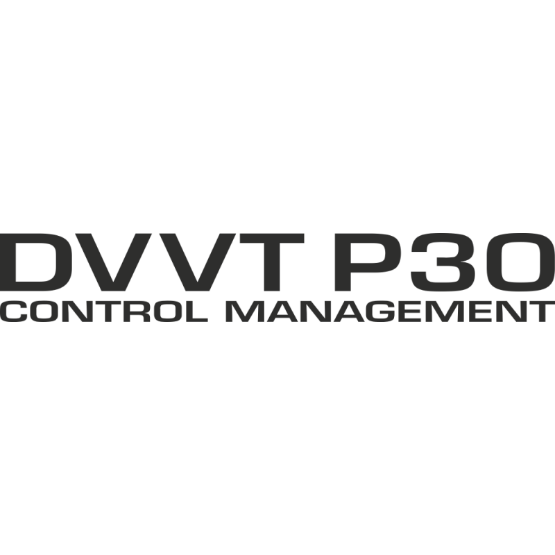 Sticker Daihatsu Dvvt P30