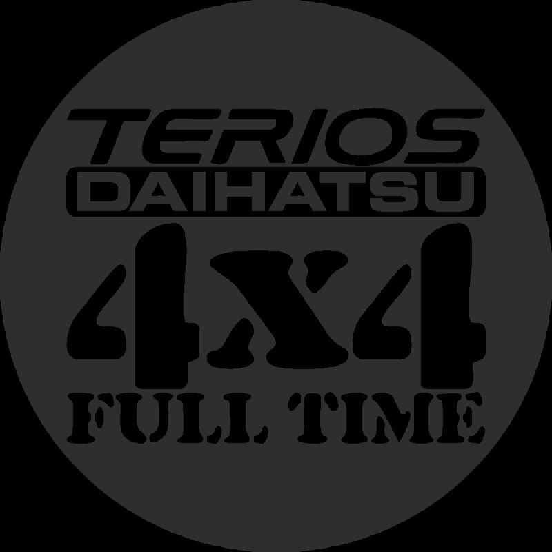 Sticker Daihatsu Terios 4x4