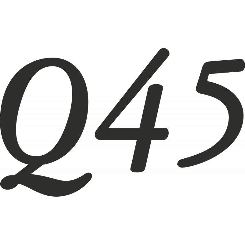 Sticker Infiniti Q45