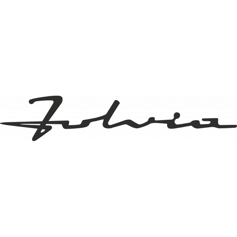 Sticker Lancia Fulvia