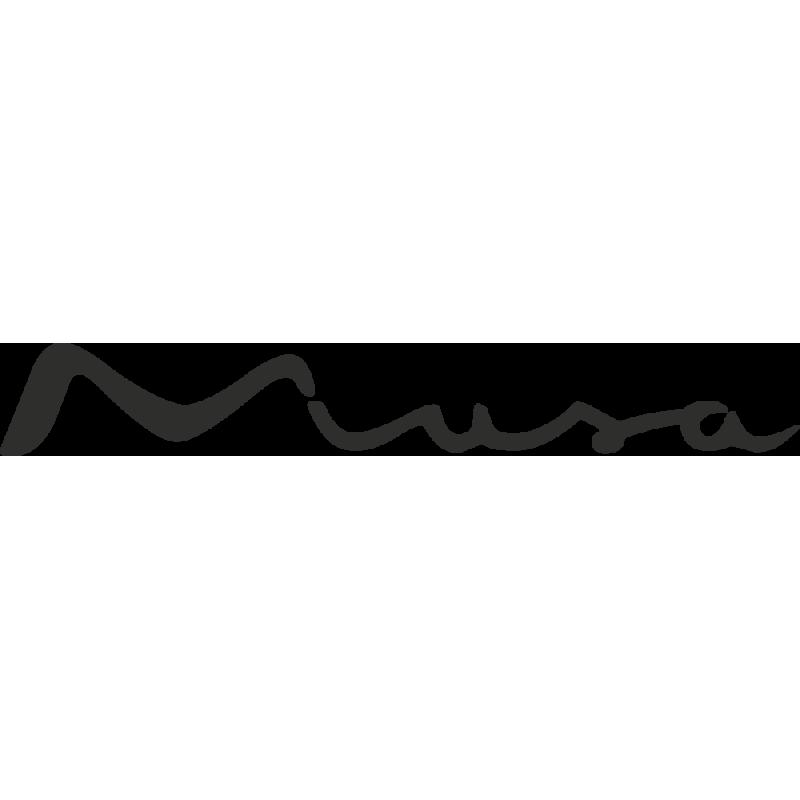 Sticker Lancia Musa