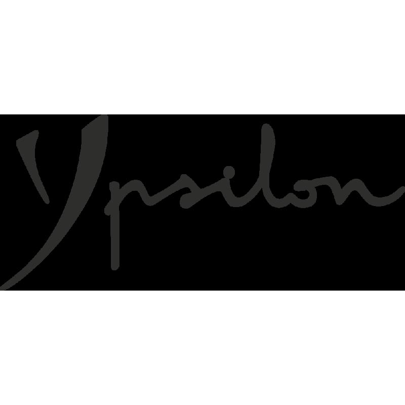 Sticker Lancia Ypsilon