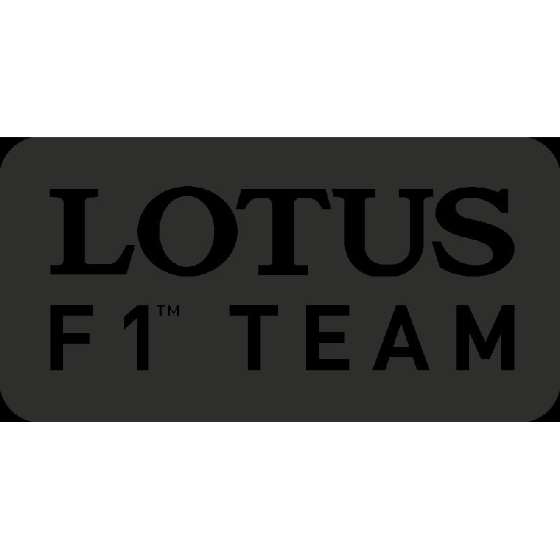 Sticker Lotus F1 Team
