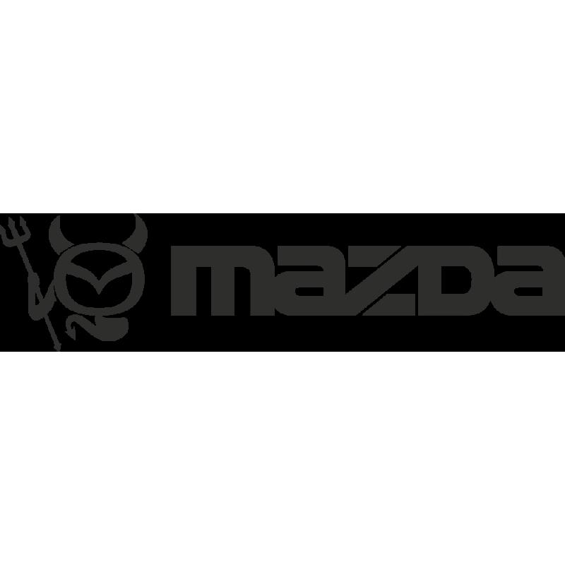 Sticker Mazda Logo Diable