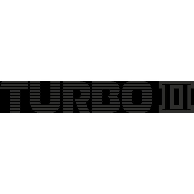 Sticker Mazda Turbo