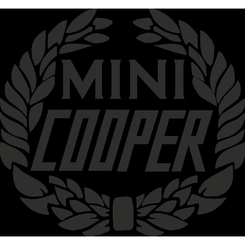 Sticker Mini Cooper Logo