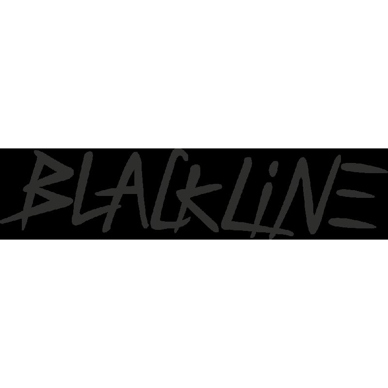 Sticker Skoda Blackline
