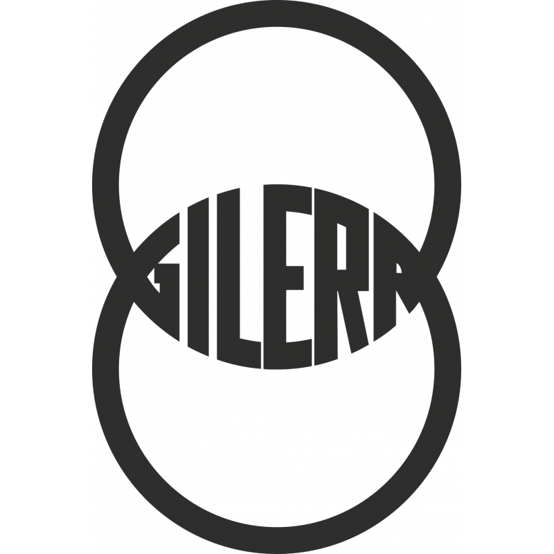Sticker Gilera Logo