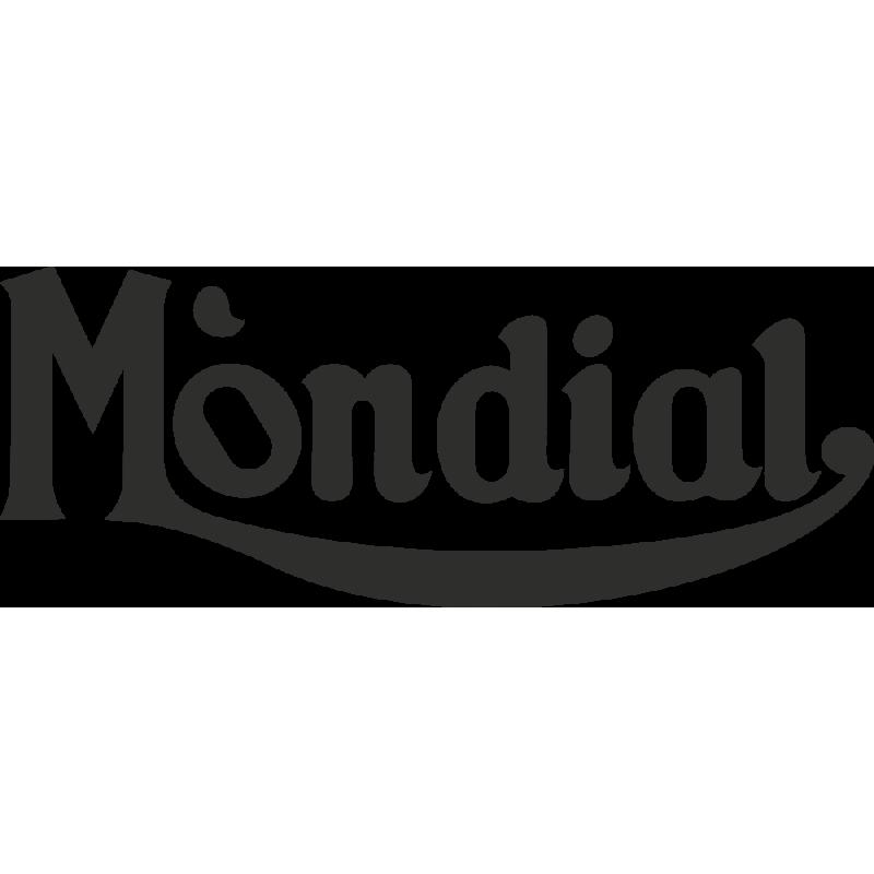 Sticker Mondial Logo
