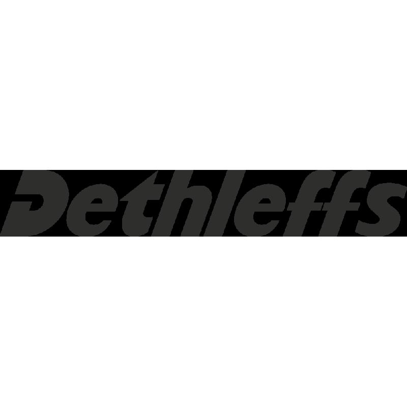 Sticker Dethleffs Logo