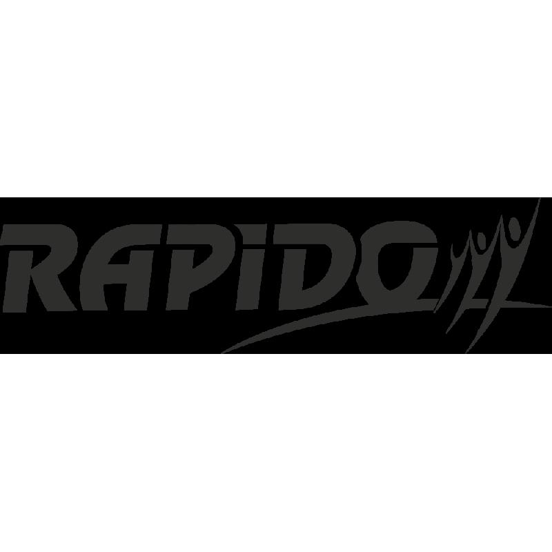 Sticker Rapido Logo
