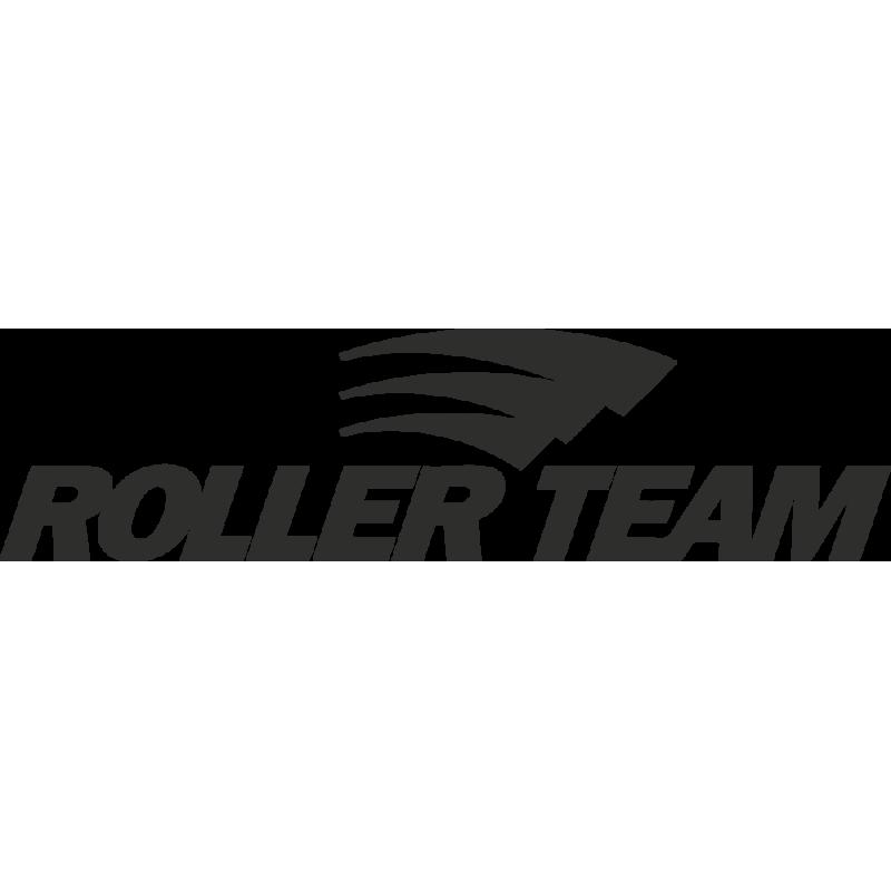 Sticker Roller Team Logo