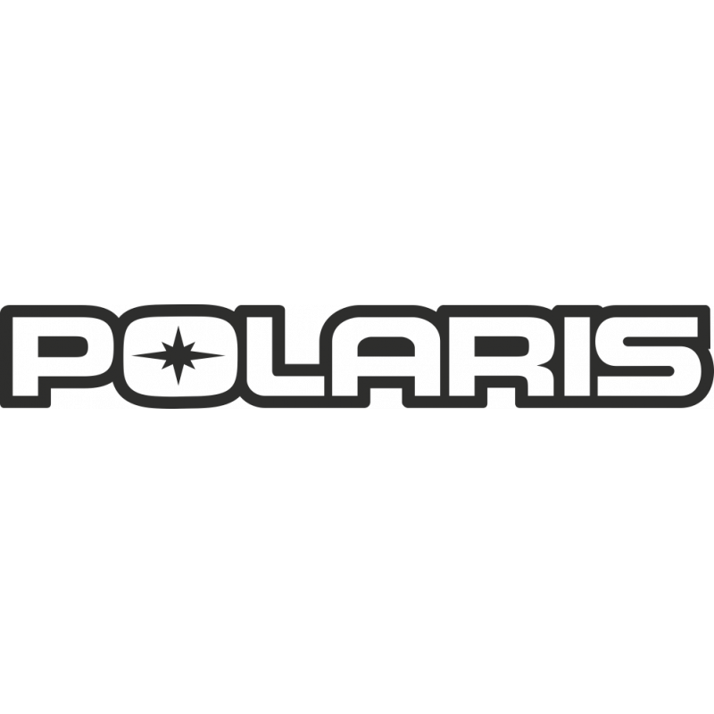 Sticker Polaris Logo