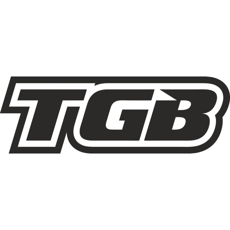 Sticker Tgb Logo