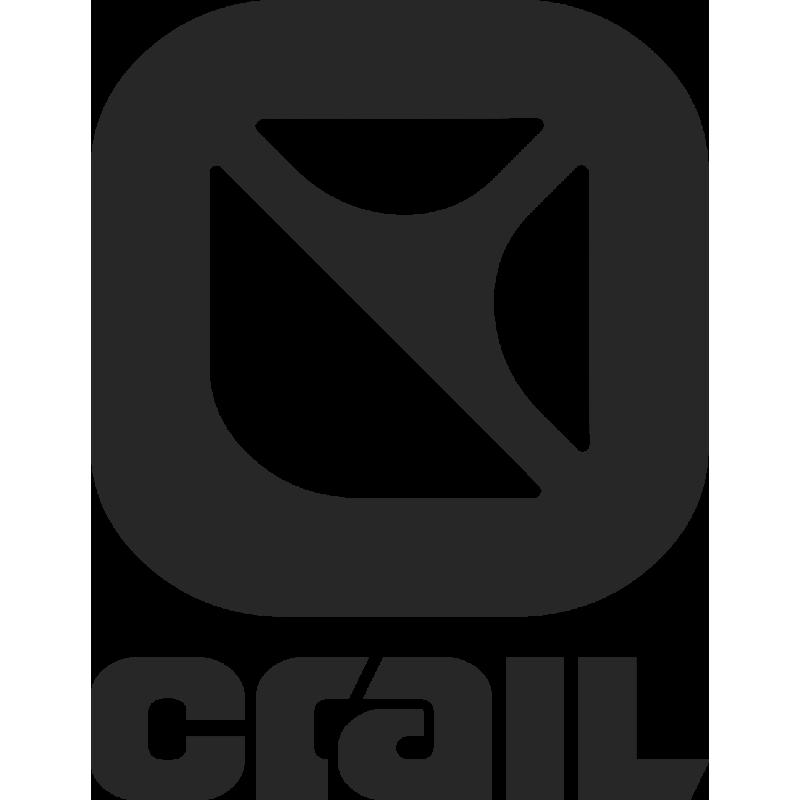 Sticker Crail Logo