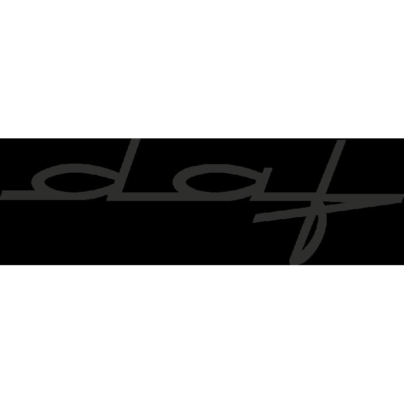 Sticker Daf Signature
