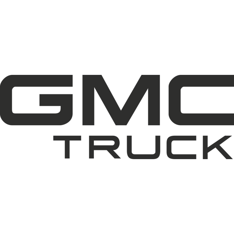 Sticker Gmc Truck