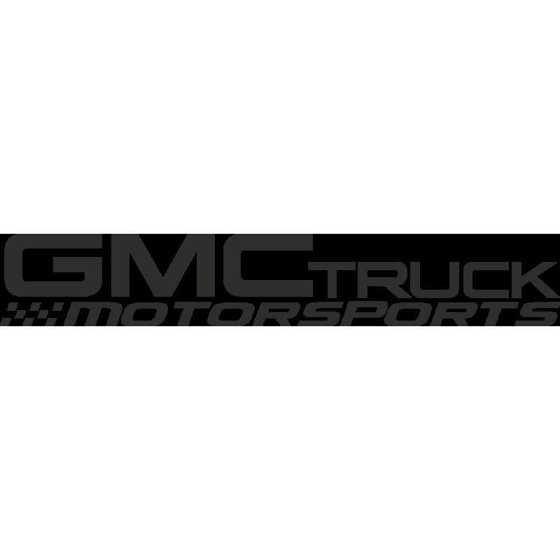 Sticker Gmc Truck Motorsport