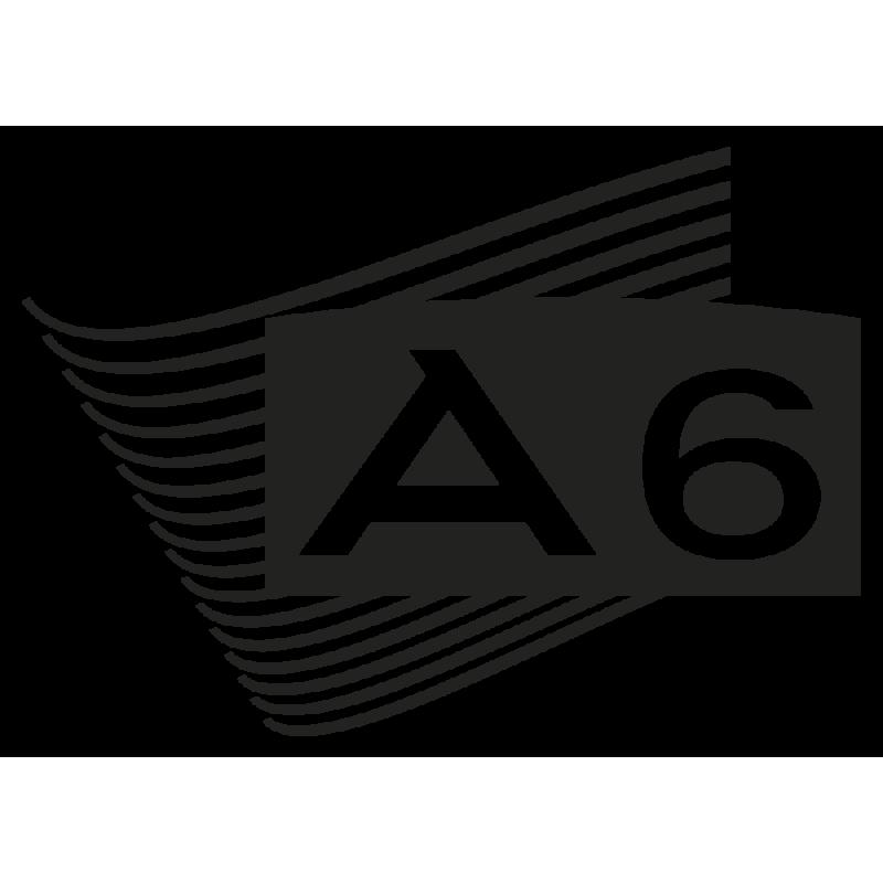 Sticker Audi A6