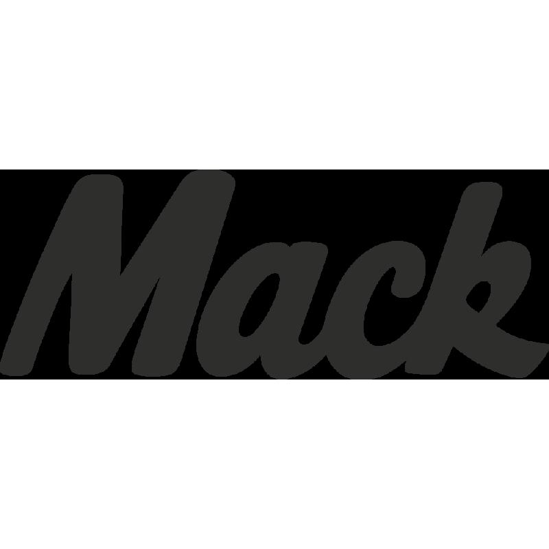 Sticker Mack Logo