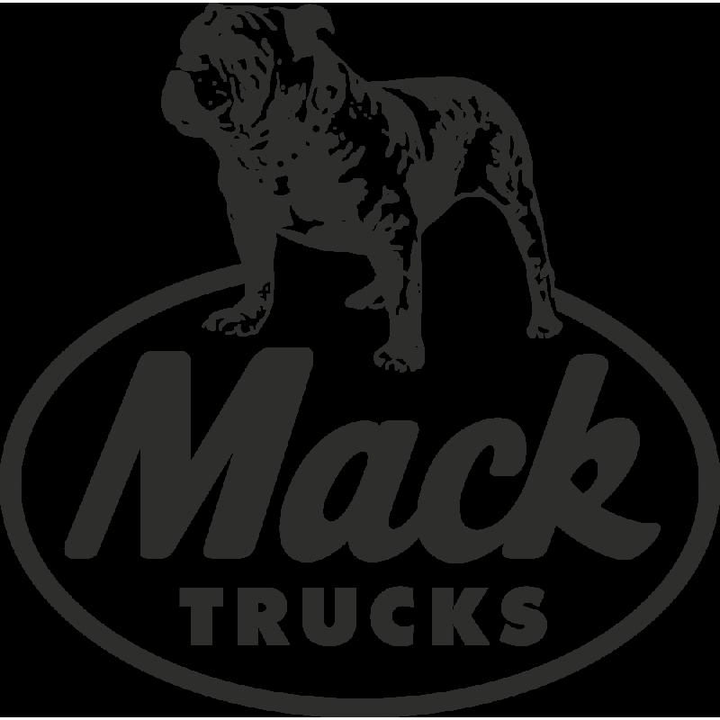Sticker Mack Truck Logo