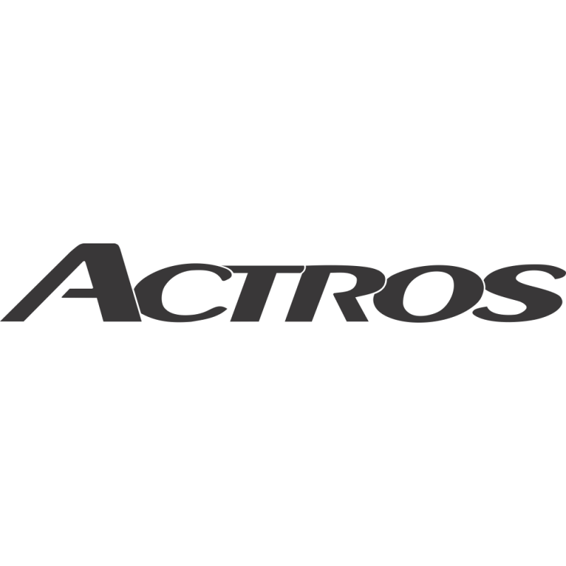 Sticker Mercedes Actros