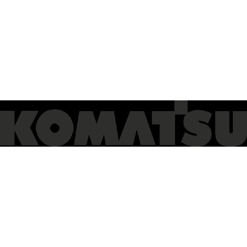 Sticker Komatsu