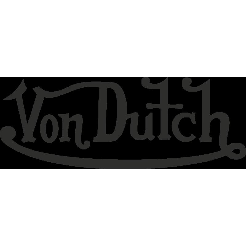 Sticker Von Dutch