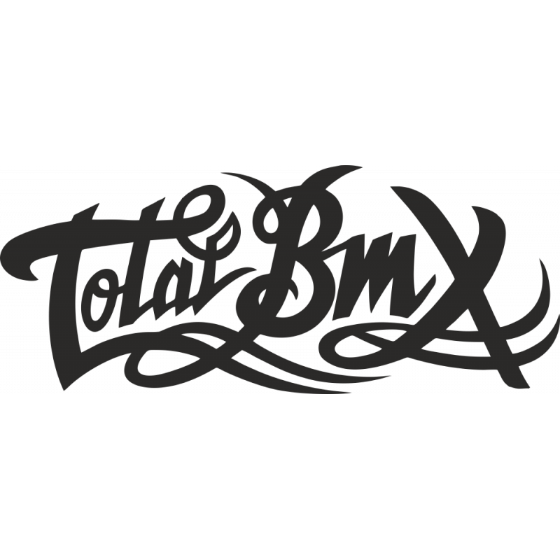 Sticker Totale Bmx