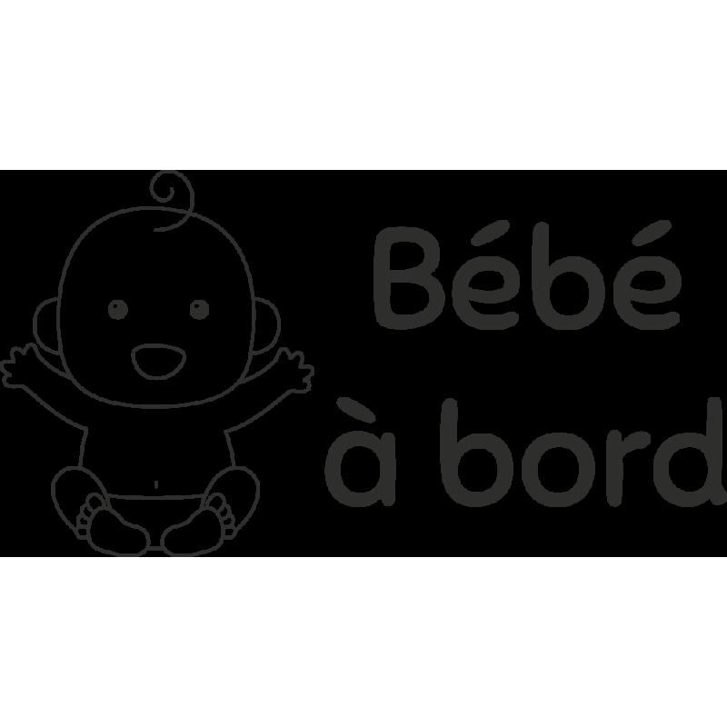 Sticker Bébé à Bord Baby